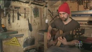 Festival du Voyageur guitar