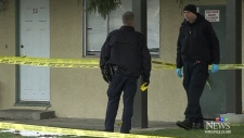 Courtenay apartment wakes up to bloody crime scene