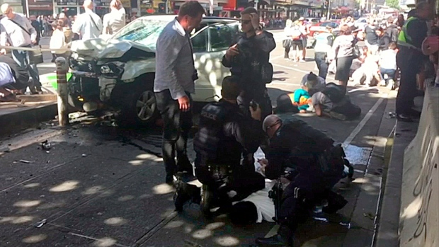 Australian who drove into crowd, killed 6, sentenced to life
