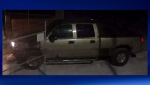The suspect vehicle in a February 22 break-in at a rural business near the Mazeppa overpass (image: High River RCMP)