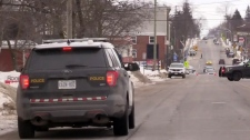 Part of Listowel locked down by police