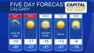Calgary forecast February 22, 2019