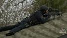 Man taken to hospital following gun call