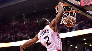 Kawhi Leonard comes up big against old team, scoring 25 points in 120-117 win | CTV News