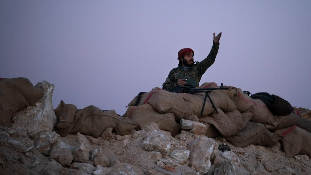 Told to leave, ISIS 'caliphate' holdouts in Syria stay