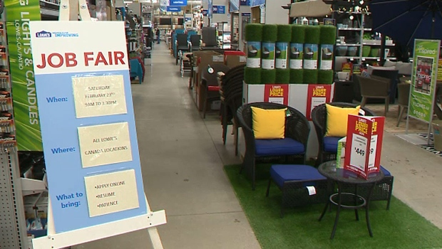 Renovation giant Lowe's holds hiring fair in southern Alberta