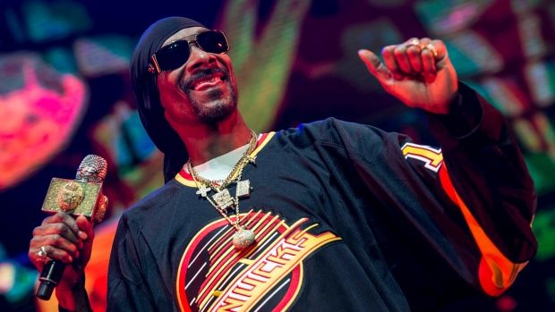 Snoop Dogg and friends in Vancouver
