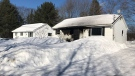 Firefighters responded to a blaze at a Fredericton home on Feb. 23, 2019. The family escaped unharmed.
