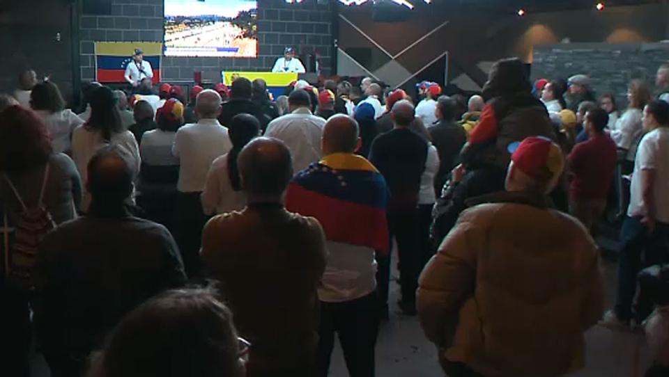 A group of Calgary's Venezuelan community got together to discuss the urgent crisis facing their fellow people back home.