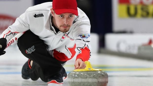 Canada's Tyler Tardi defends men's world junior curling