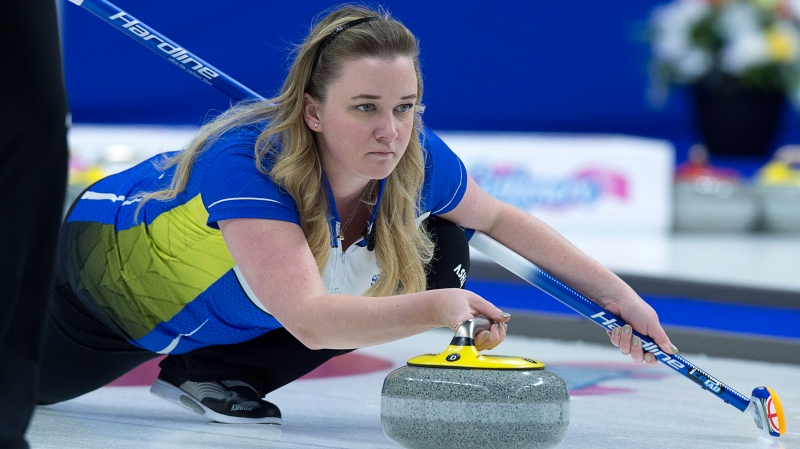 Chelsea Carey's rink moved on last March, leaving the two-time Scotties champion without a team entering the most critical season of the quadrennial. (File photo)