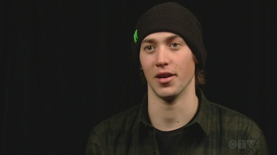 Olympian freestyle skier Alex Beaulieu-Marchand