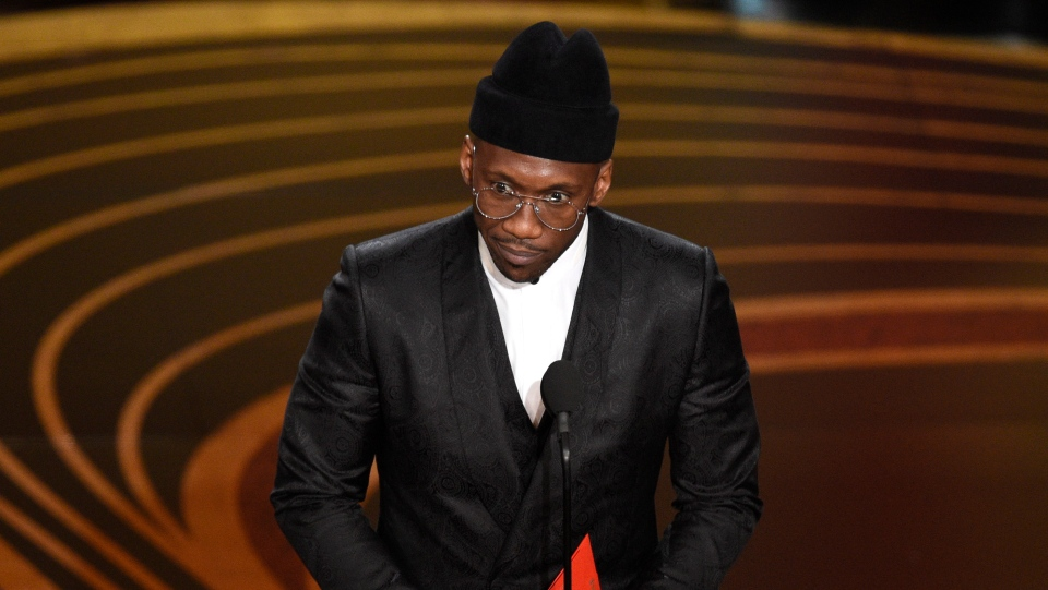 2cc49bbab9b7 Mahershala Ali accepts the award for best performance by an actor in a  supporting role for 'Green Book' at the Oscars on Sunday, Feb.