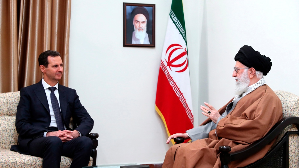 Khamenei and Assad