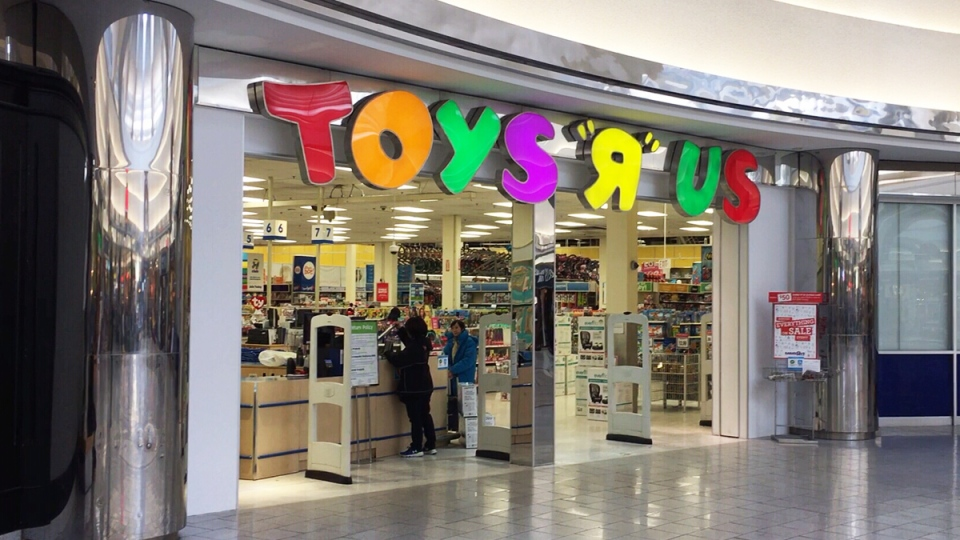 The Toys 'R' Us at Lansdowne Centre in Richmond is seen on Monday, Feb. 25, 2019.