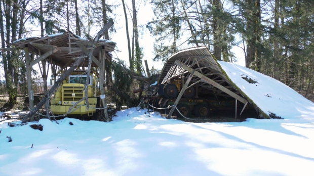 BC Forest Discovery Centre damaged