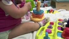 A child playing