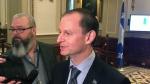 CAQ Finance Minister Eric Girard