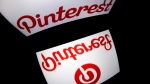 Pinterest confirmed to AFP Monday it changed its policy last year with regards to anti-vaccine content, a development first disclosed last week by the Wall Street Journal. (AFP PHOTO / LIONEL BONAVENTURE)