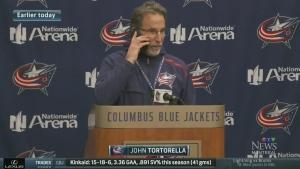Coach talks to reporter's mom