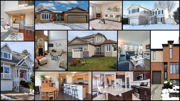 From a four-bedroom home in St. John's, a one bedroom loft in downtown Toronto to five-bedroom bungalow in Saskatoon, take a virtual tour of 12 homes on the market across Canada for $500K or less.