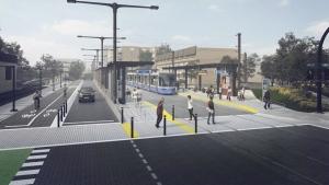West Valley Line LRT sketch