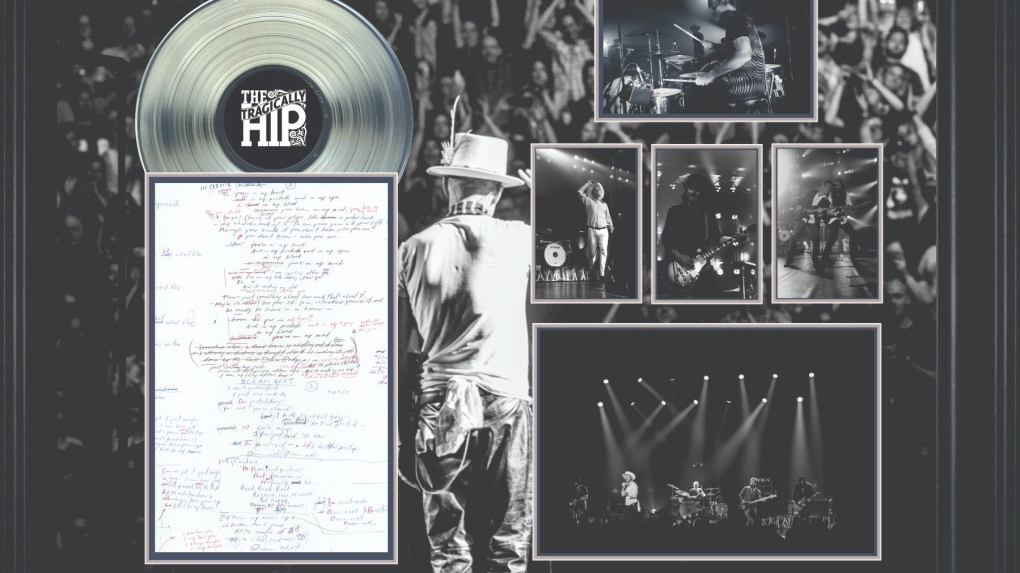 Stolen Tragically Hip albums meant for charity auction recovered