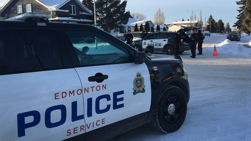 Edmonton police responded to the area of 159 Street and 97 Avenue after a possible explosive device was found under a vehicle.
