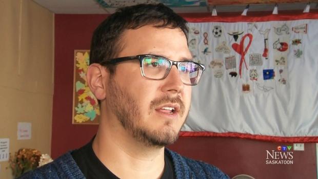 Jason Mercredi of AIDS Saskatoon