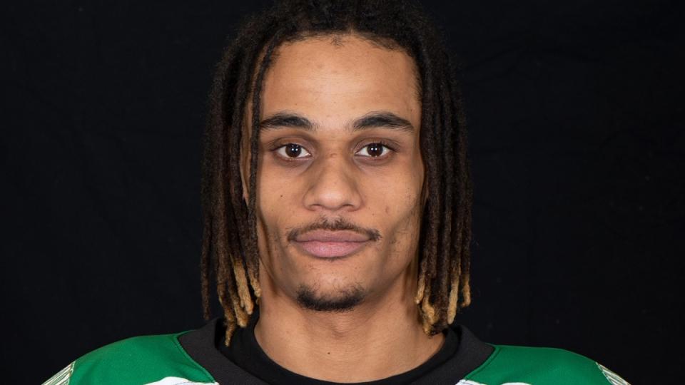 Hockey player Jonathan-Ismael Diaby