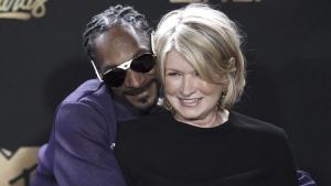Snoop Dogg and Martha Stewart in 2017
