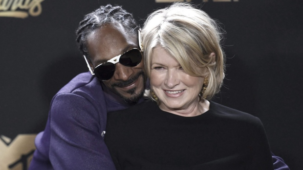 Martha Stewart partners with Canopy Growth to develop CBD products