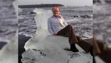 Grandmother on ice