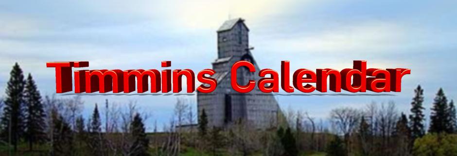 Timmins Community Calendar