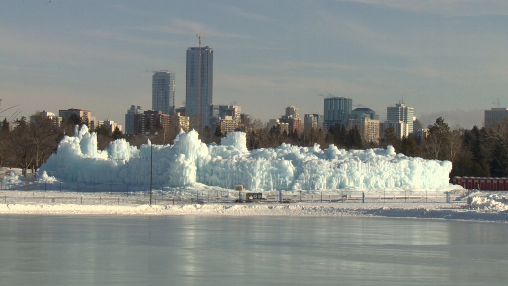 Ice Castles returning to Edmonton for fifth year