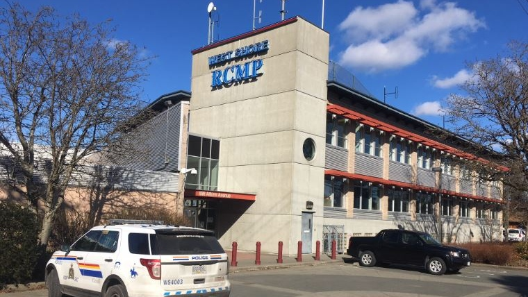 The West Shore RCMP detachment is shown, Thursday, Feb. 28, 2019. (CTV Vancouver Island)