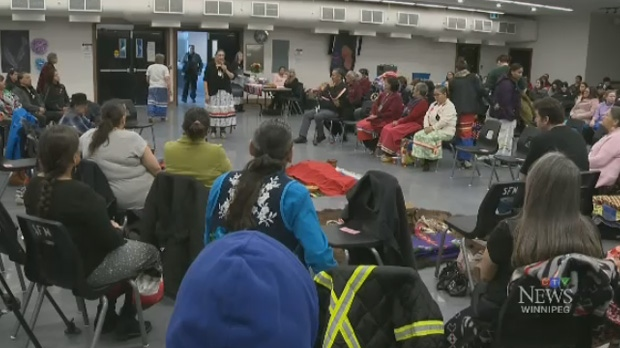 Ceremony for MMIWG in Sagkeeng