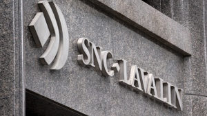 The SNC-Lavalin headquarters is seen in Montreal on Tuesday, February 12, 2019. (THE CANADIAN PRESS/Paul Chiasson)