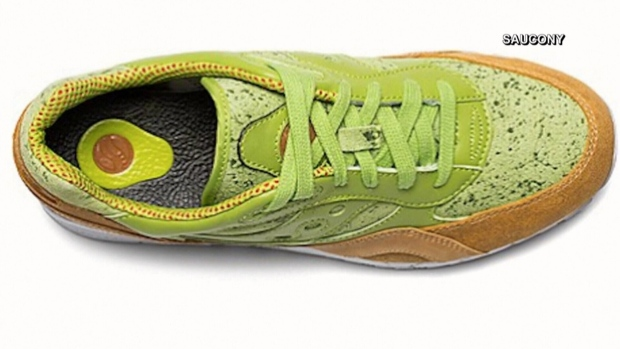 Saucony selling sneakers inspired by