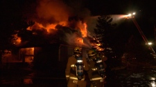 Oyster River pub fire