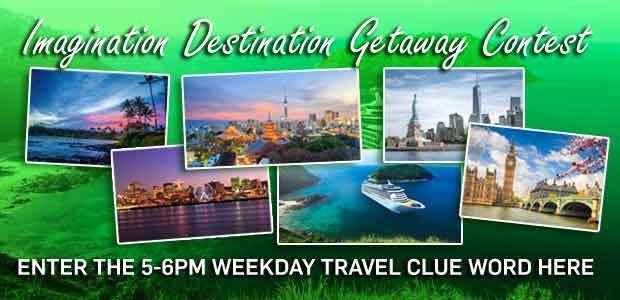 Imagination Destination Getaway 5-6pm Banner