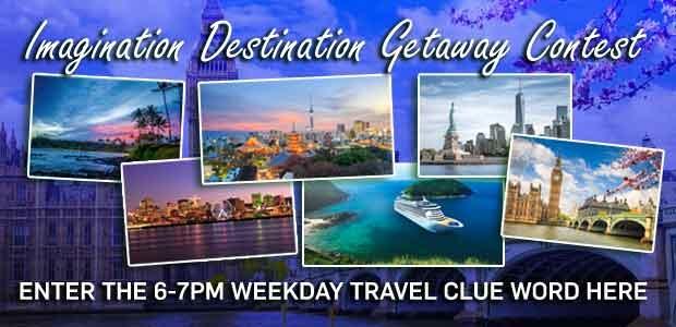 Imagination Destination Getaway 6-7pm Banner