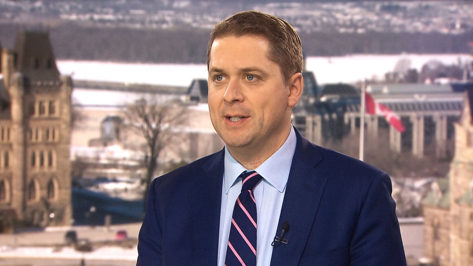 Conservative Leader Andrew Scheer on CTV's Question Period.
