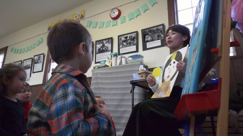 A first-of-its-kind Japanese immersion program for preschoolers is being offered at the Craigflower Schoolhouse in Saanich. Friday, March 1, 2019. (CTV Vancouver Island)