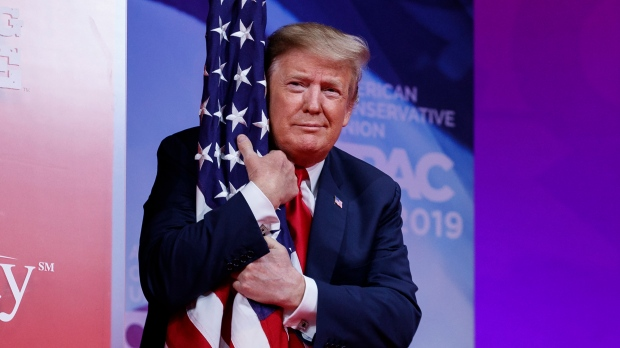 Trump Rouses Right With Prediction of a Big 2020 Win