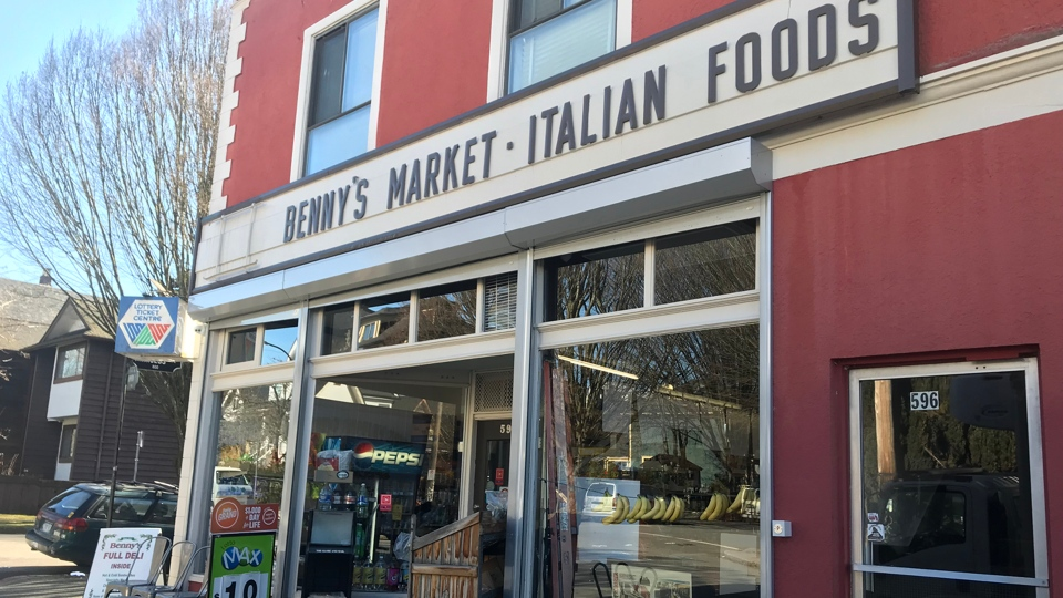 Benny's Market has serving the Strathcona neighbourhood for 100 years.