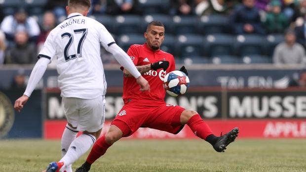 Toronto FC defender Auro