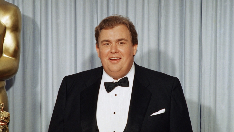 John Candy appears at the Academy Awards in April, 1988.THE CANADIAN PRESS/AP