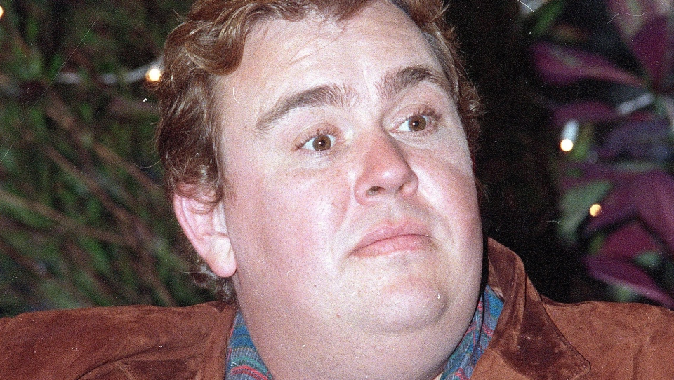 Comedian and actor John Candy is seen on Nov. 5, 1987. THE CANADIAN PRESS/AP/Wise