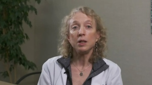Radiation oncologist with the BC Cancer Foundation Dr. Juanita Crook